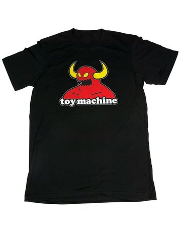 TOY MACHINE MONSTER TEE - BLACK
