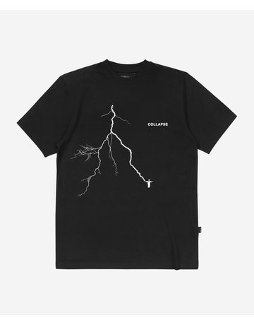 WASTED PARIS COLLAPSE TEE - BLACK