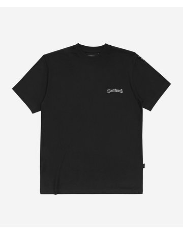 WASTED PARIS ESSENTIAL 210 GSM TEE - BLACK
