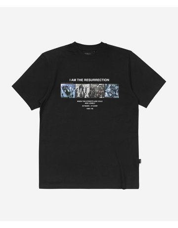 WASTED PARIS RESURRECTION TEE - BLACK