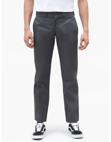 DICKIES 873 STRAIGHT WORK PANT - CHARCOAL GREY