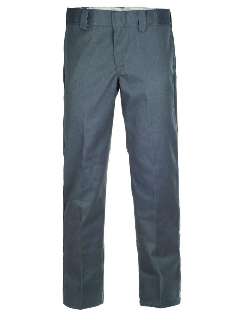 DICKIES 873 STRAIGHT WORK PANT - CHARCOAL GREY