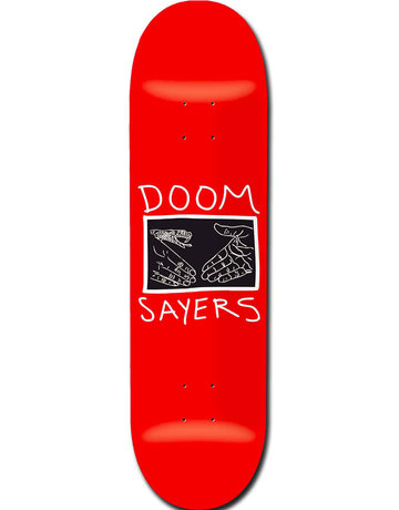 DOOM SAYERS SNAKE SHAKE DECK RED - 9.0