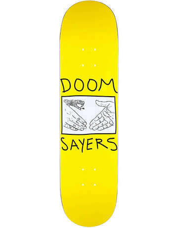 DOOM SAYERS SNAKE SHAKE DECK YELLOW - 8.08