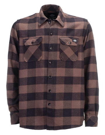 DICKIES SACRAMENTO SHIRT - GRAVEL GRAY