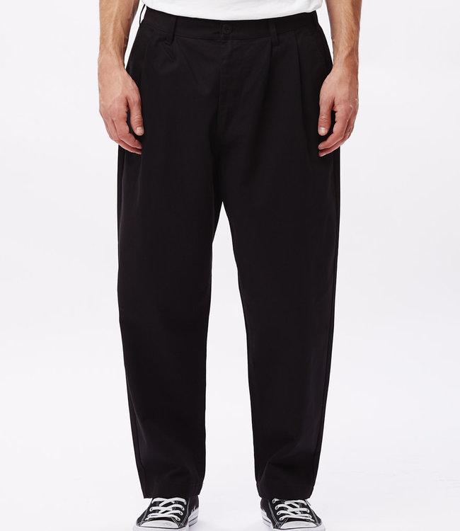 OBEY Fubar Pleated Pant - Black