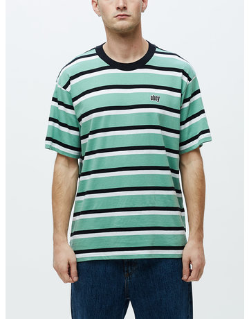 OBEY JEFF CLASSIC TEE SS - SAGE MULTI
