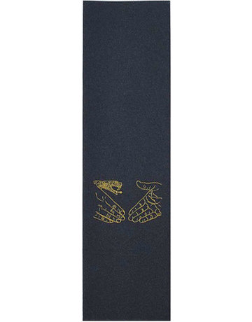 DOOM SAYERS SNAKE SHAKE GRIPTAPE - BLACK/YELLOW
