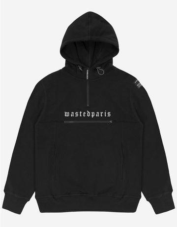 WASTED PARIS TECHNIC HOODIE - BLACK