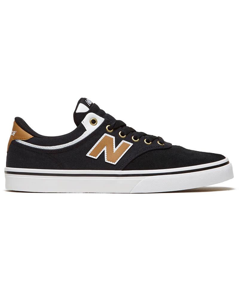 NEW BALANCE NUMERIC 255 - BLACK/WHITE