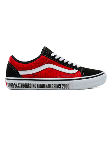 VANS Old Skool Pro - (Baker) Black/White/Red
