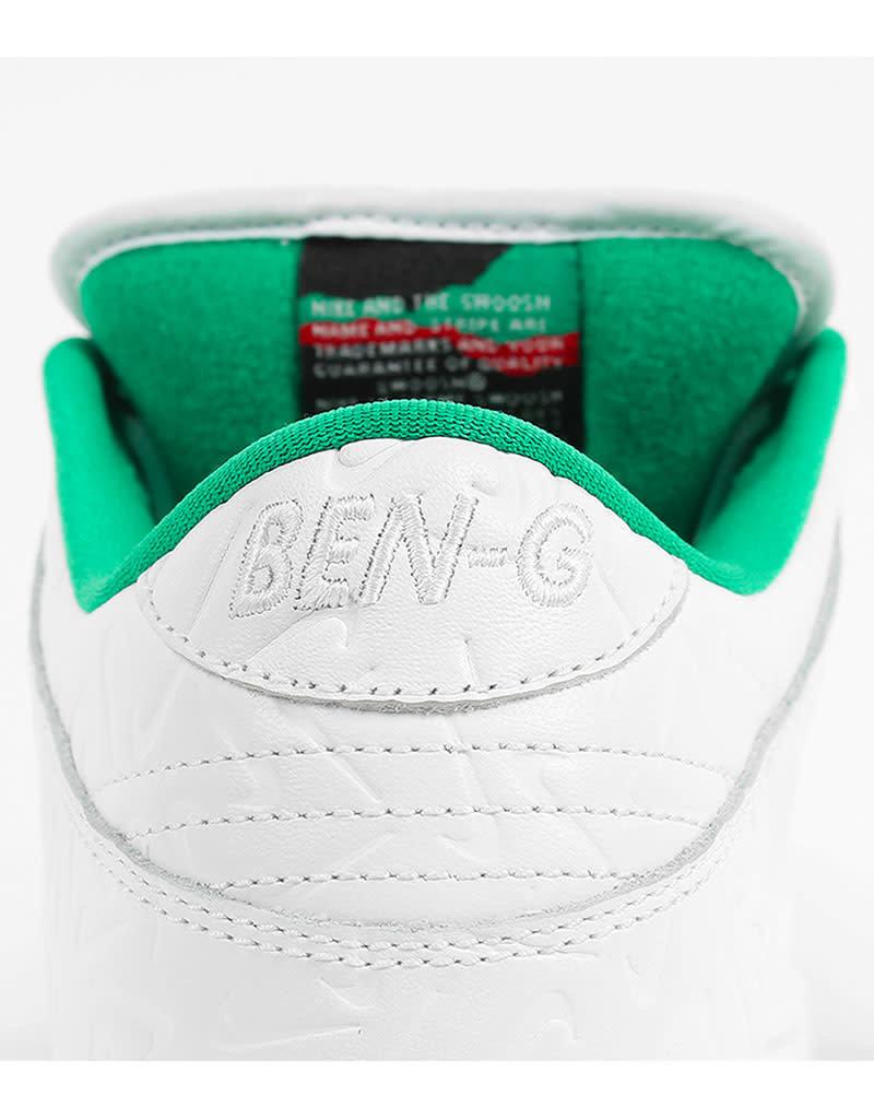 NIKE SB DUNK LOW OG QS 2 BEN-G - WHITE/WHITE-LUCID GREEN-SAIL