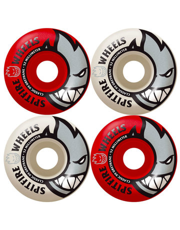 SPITFIRE BIGHEAD CLASSIC - MASHUP RED/WHITE - 52MM