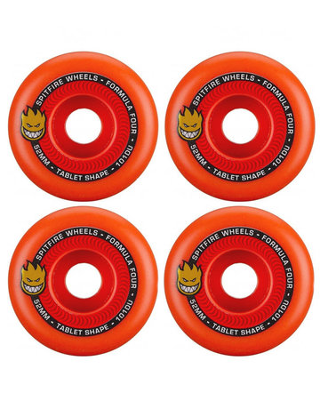 SPITFIRE FORMULA FOUR TABLETS AURORA RED - 52MM 101A