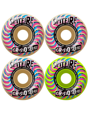 SPITFIRE FORMULA FOUR CLASSIC FULL GROSSO SUCKS MASHUP 54MM 99A