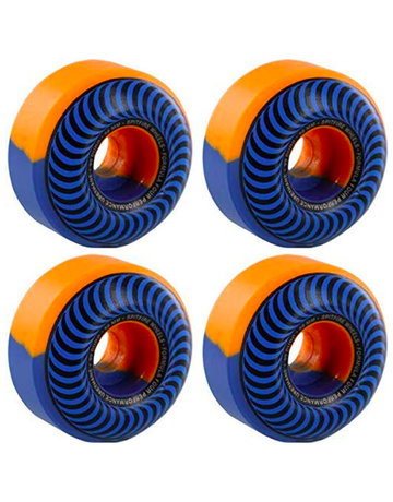 SPITFIRE FORMULA FOUR CLASSIC SWIRLS BLUE/ORANGE - 56MM 99A