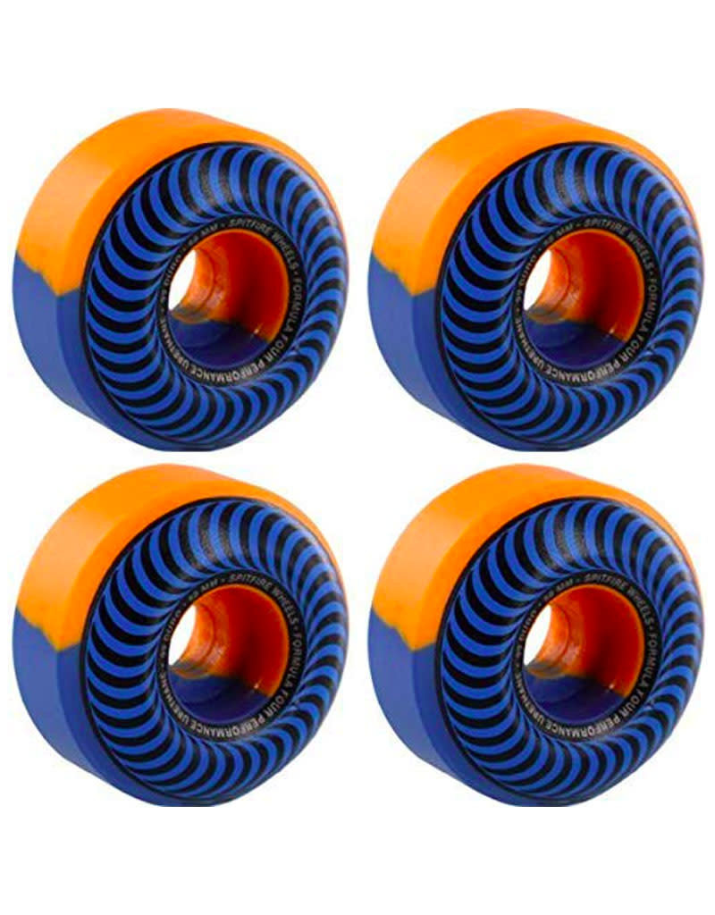 SPITFIRE FORMULA FOUR CLASSIC - SWIRLS BLUE/ORANGE - 56MM 99A