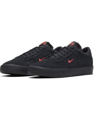 NIKE SB BRUIN - BLACK/BRIGHT CRIMSON-BLACK