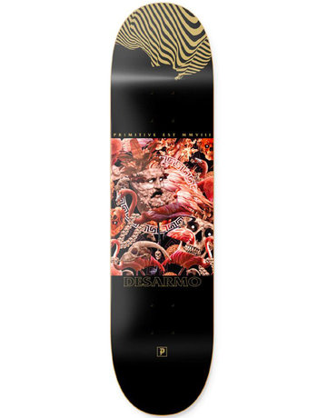 PRIMITIVE DESARMO CHAOS DECK BLACK - 8.0