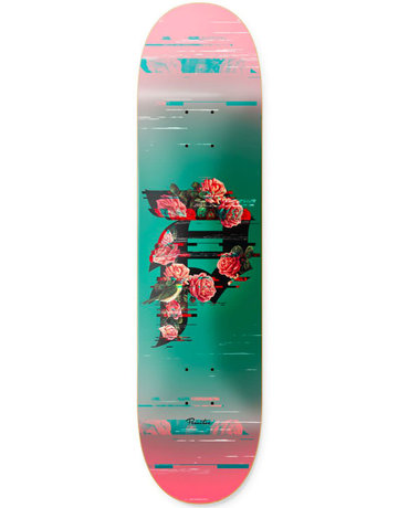PRIMITIVE DIRTY P GLITCH DECK TEAL - 8.0