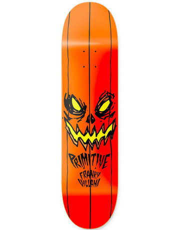 PRIMITIVE VILLANI PUMPKIN DECK BLACK - 8.38
