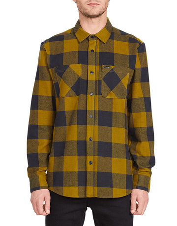 VOLCOM SHADE STONE L/S - SONIC GREEN