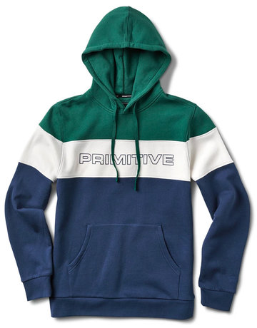PRIMITIVE LEVELS HOOD - GREEN