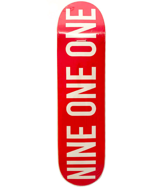 NINE ONE ONE SHOPDECK NINE ONE ONE - RED