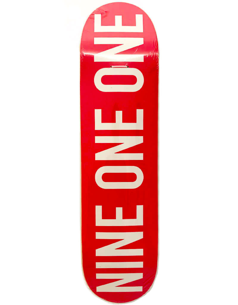 SHOPDECK NINE ONE ONE - RED