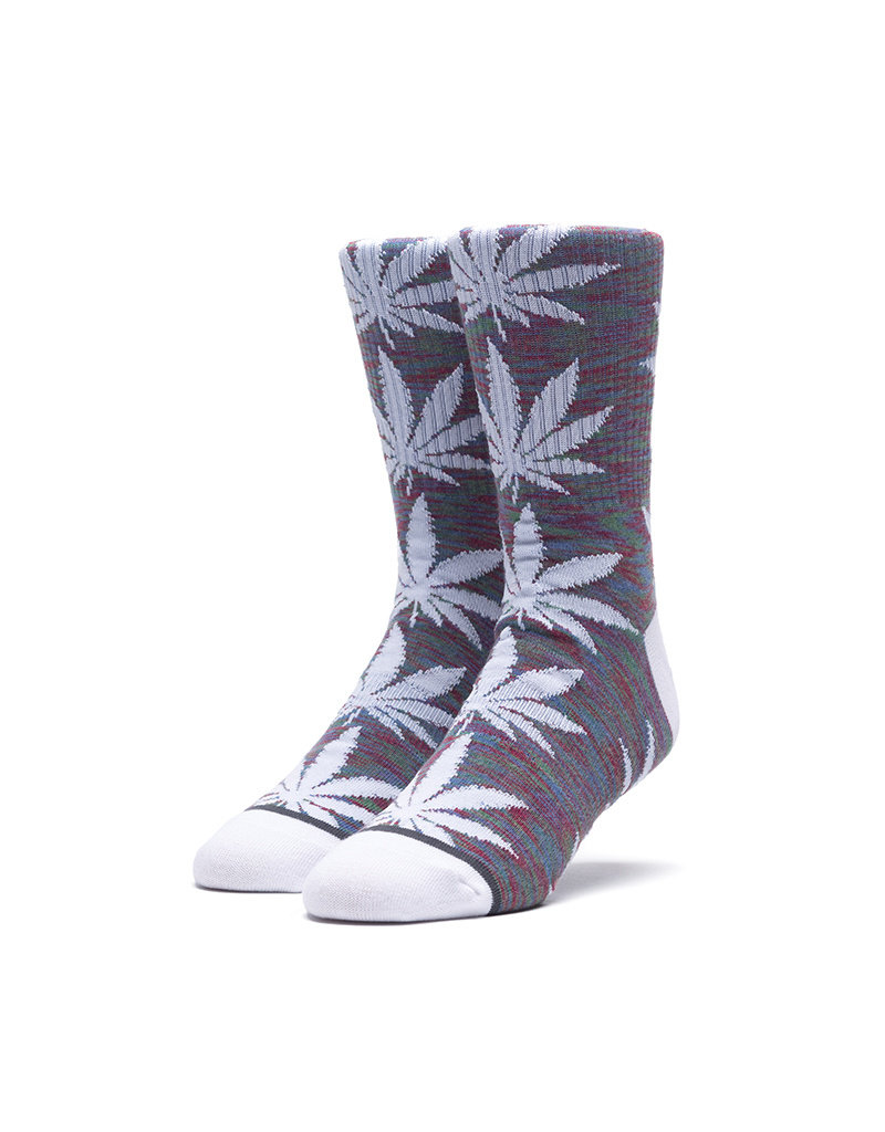 HUF SPACE DYE LEAVE PLANTLIFE SOCK - INSIGNIA BLUE