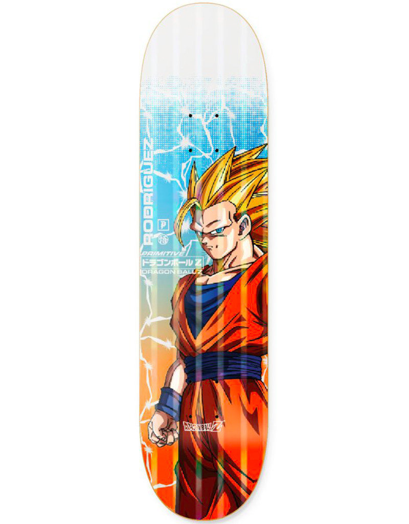 PRIMITIVE RODRIGUEZ GOKU POWER LEVEL DECK BLUE - 8.125