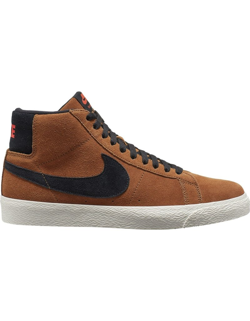 NIKE SB BLAZER MID - LT BRITISH TAN/BLACK