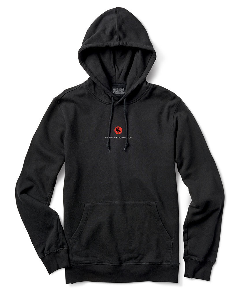PRIMITIVE CROWS HOOD - BLACK