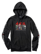 PRIMITIVE LEAF VILLAGE HOOD - BLACK