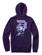 PRIMITIVE SASUKE DIRTY P HOOD - PURPLE