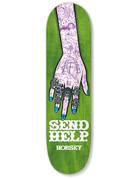 SEND HELP RINGS DECK GREEN - 8.375