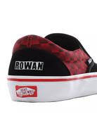 VANS Slip-On Pro - (Baker) Rowan/speed check