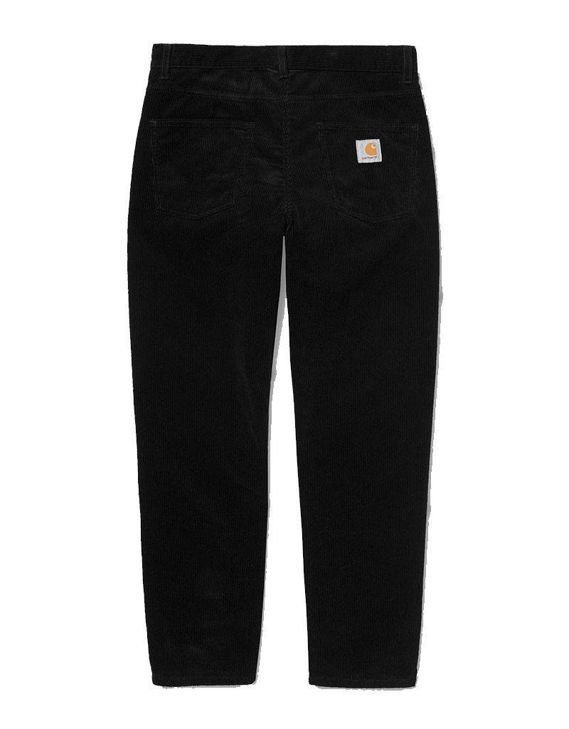 CARHARTT NEWEL PANT - BLACK RINSED