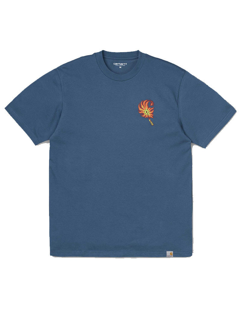 CARHARTT S/S MATCH T-SHIRT - PRUSSIAN BLUE