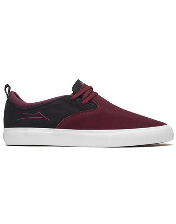 LAKAI RILEY 2 - BURGUNDY/BLACK/BLACK