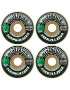 SPITFIRE FORMULA FOUR CONICAL GREEN PRINT - 52MM 101A