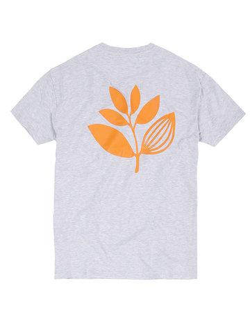 MAGENTA CLASSIC PLANT TEE - ASH