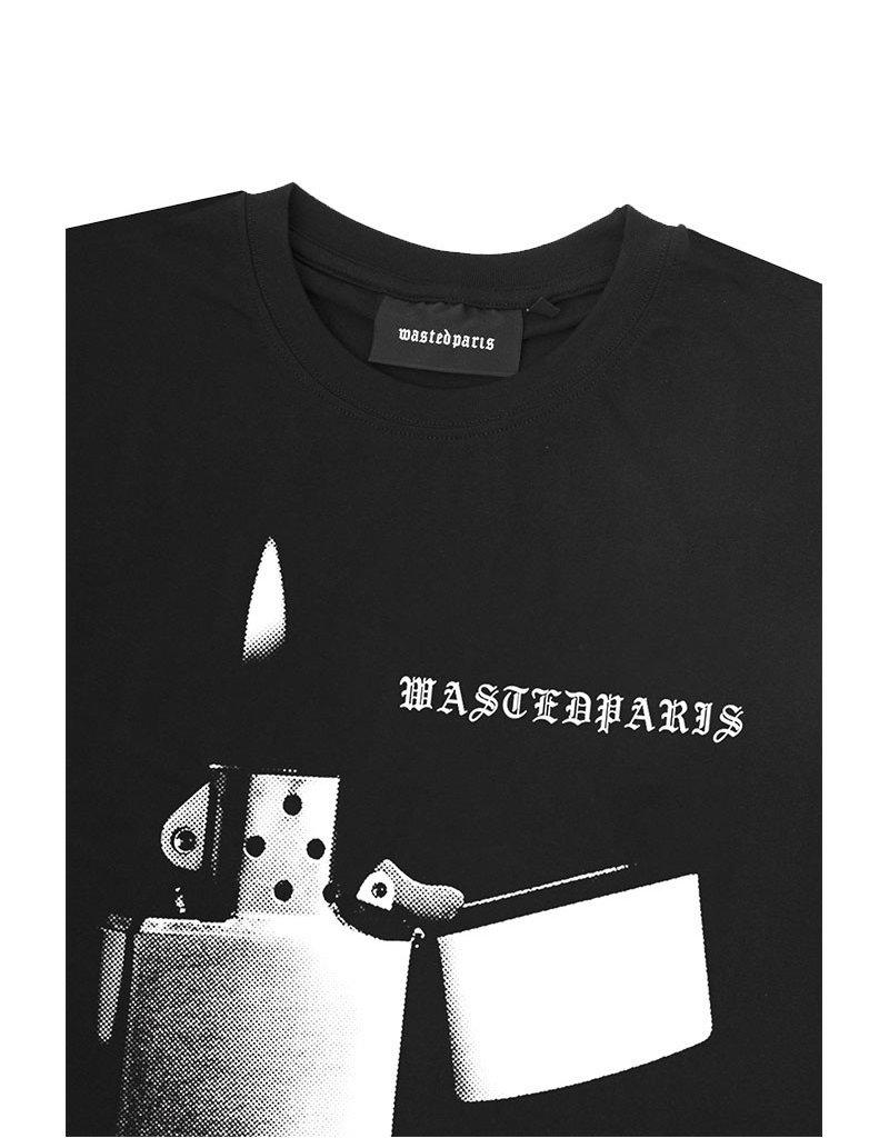 WASTED PARIS PHOENIX T-SHIRT - BLACK