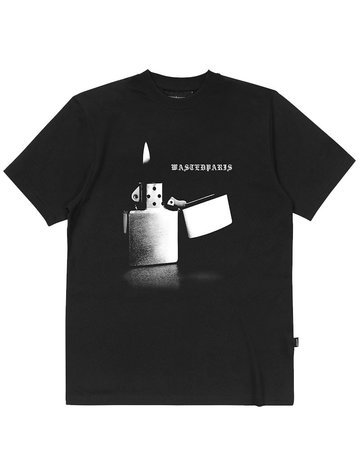 WASTED PARIS PHOENIX T-SHIRT - BLACK