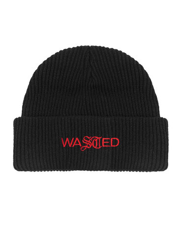 WASTED PARIS EVOLUTION SAILOR BEANIE - BLACK