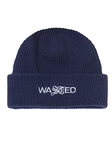 WASTED PARIS EVOLUTION SAILOR BEANIE - NAVY