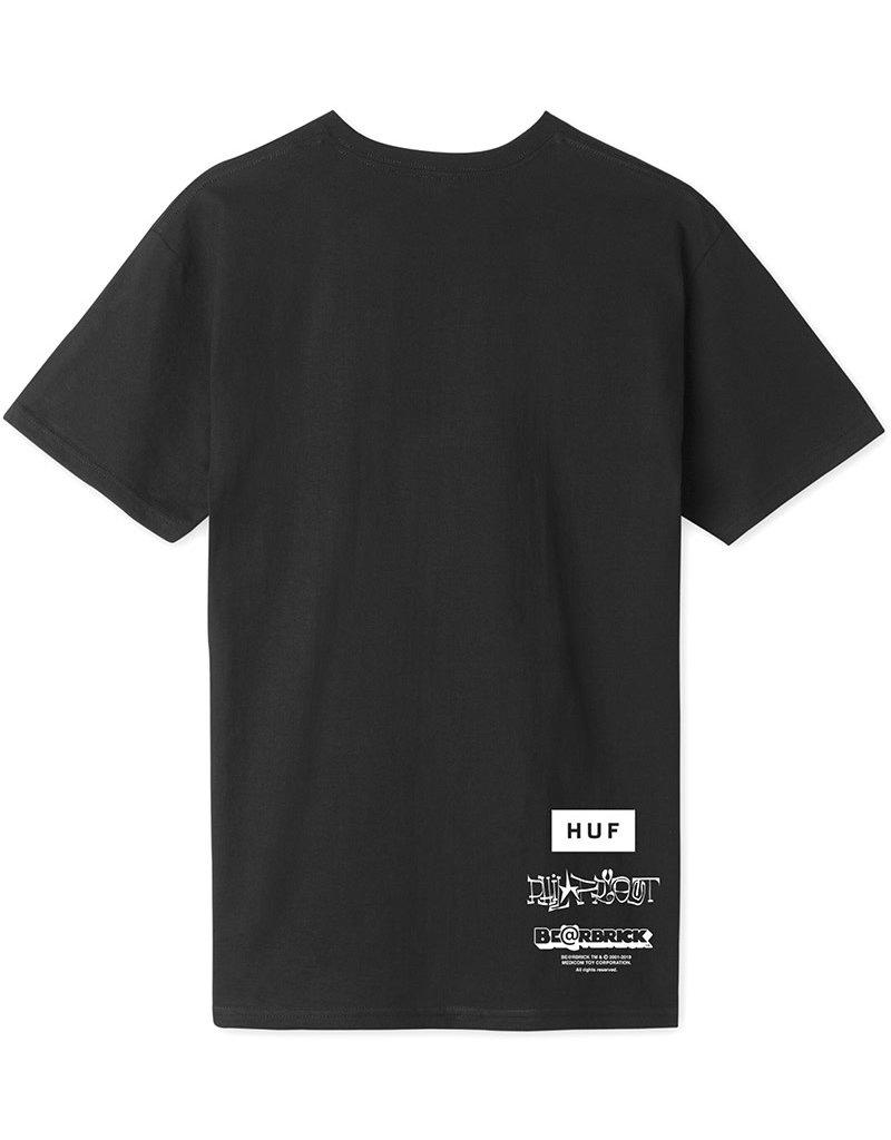 HUF PHIL FROST X BEARBRICK S/S TEE - BLACK