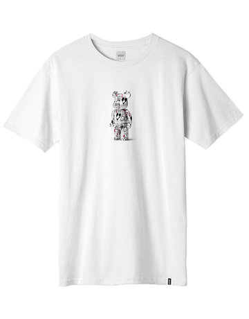 HUF PHIL FROST X BEARBRICK S/S TEE - WHITE
