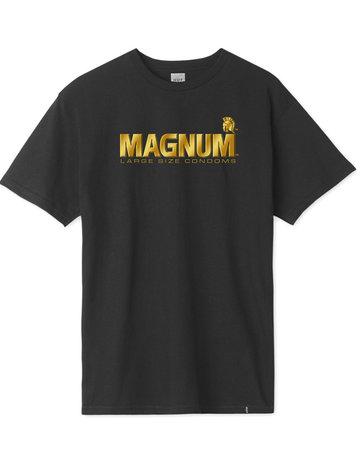 HUF TROJAN MAGNUM S/S TEE - BLACK