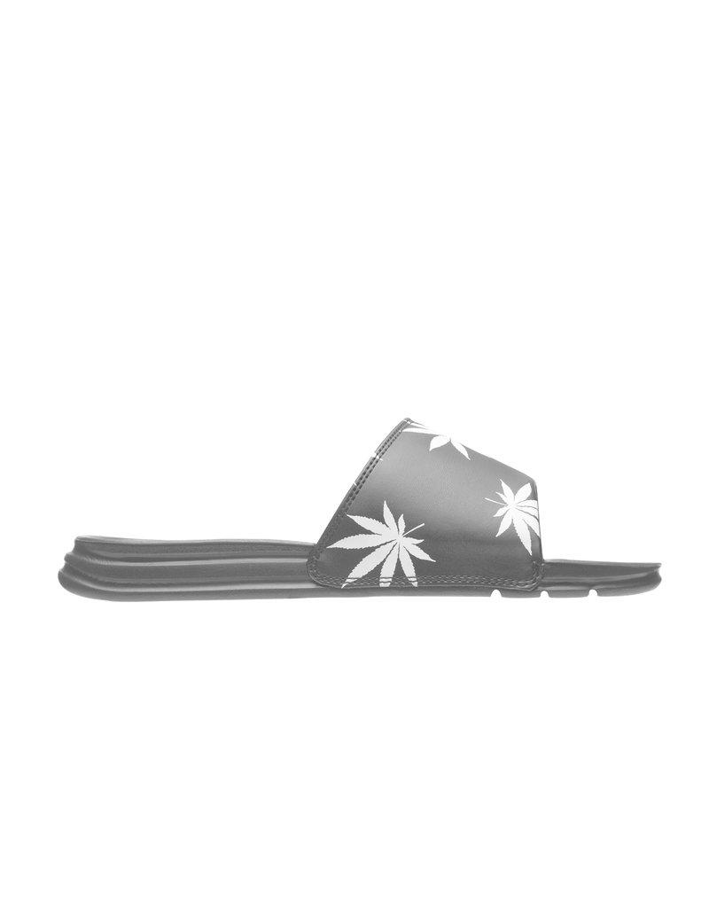 HUF PLANTLIFE SLIDE - BLACK